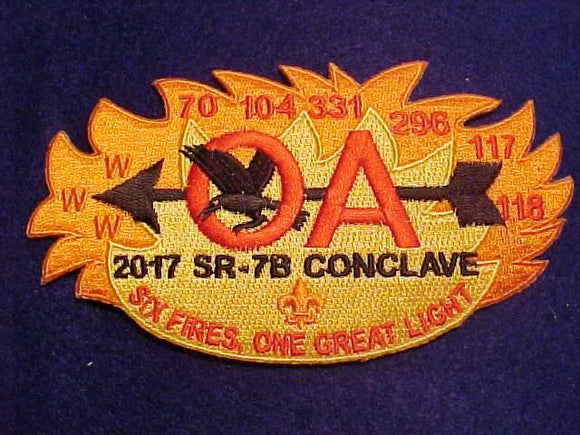 2017 PATCH, SECTION SR-7B CONCLAVE