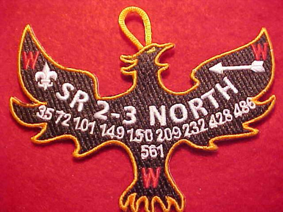 SR2-3 NORTH SECTION PATCH, NO DATE (POSSIBLY 2011 ISSUE)