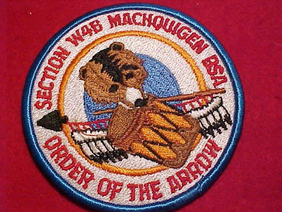 W4B SECTION PATCH, MACHQUIGEN, NO DATE