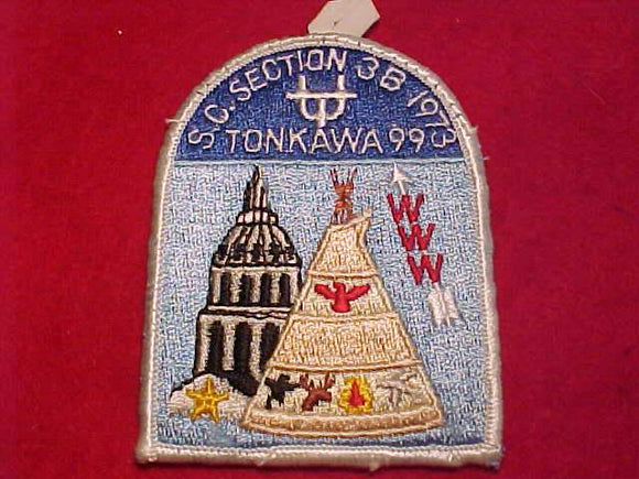 1973 SC3B SECTION CONCLAVE PATCH, TONKAWA 99