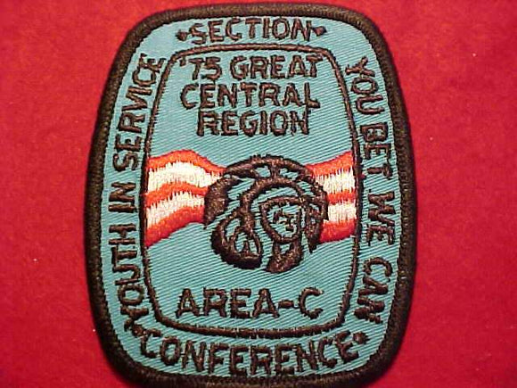 1975 NC3C SECTION CONFERENCE PATCH