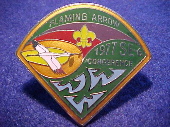 1977 SE6 SECTION CONFERENCE N/C SLIDE, CAMP FLAMING ARROW