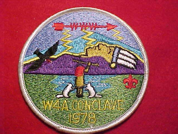 1978 W4A SECTION CONCLAVE PATCH