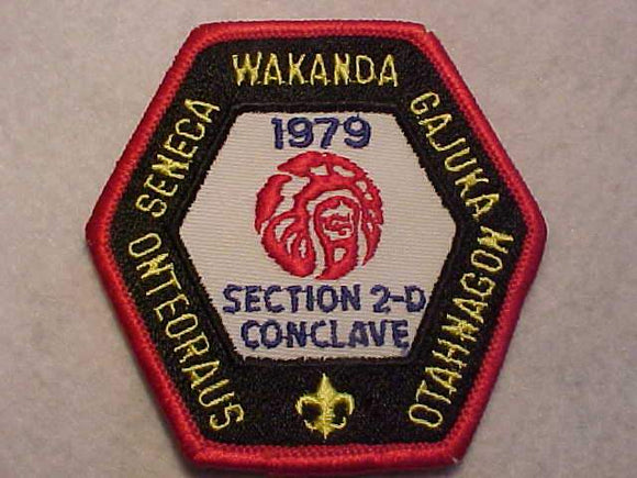 1979 NE2D SECTION CONCLAVE PATCH