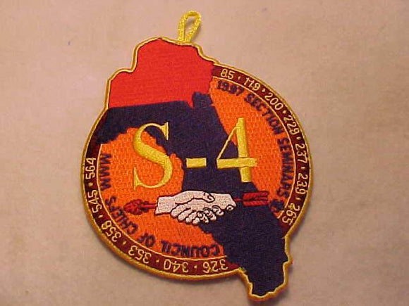 1997 PATCH, SECTION S4 SEMINARS, COUNCIL OF CHIEFS