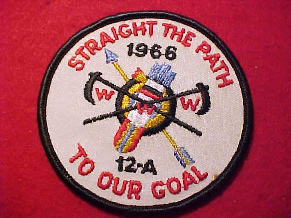 1966 PATCH, 12A AREA CONCLAVE