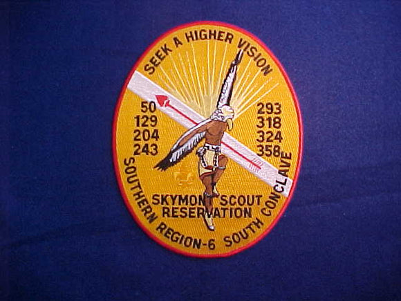 SR6S CONCLAVE JACKET PATCH, NO DATE