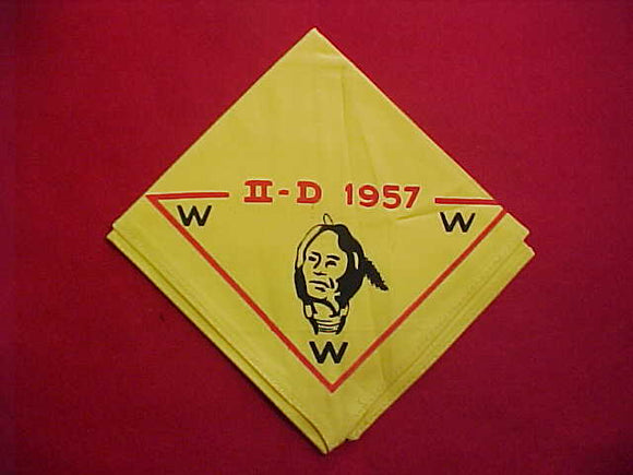 1957 AREA 2D NECKERCHIEF