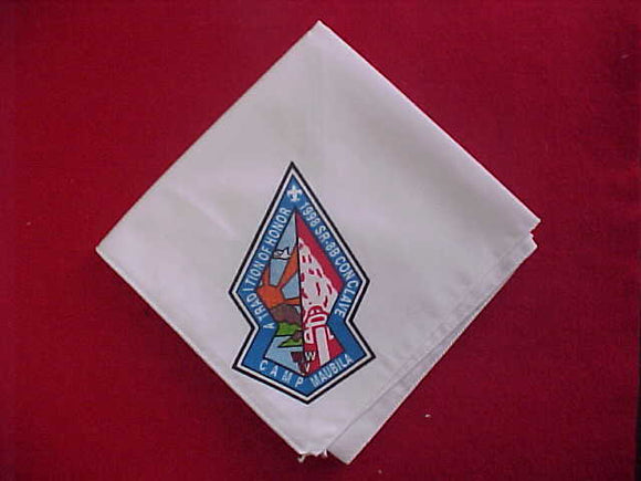 1998 SECTION SR8B CONCLAVE NECKERCHIEF, CAMP MAUBILA