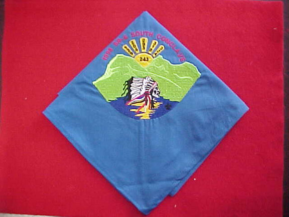 1998 SECTION SR6S CONCLAVE NECKERCHIEF, HOST LODGE 243 MOWOGO