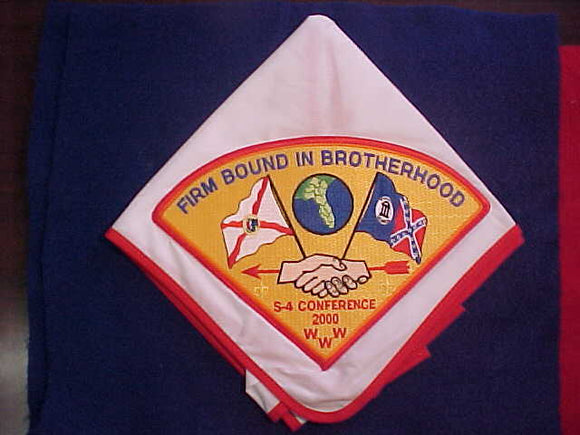 2000 SECTION S4 CONFERENCE NECKERCHIEF, HOST LODGE 200 ECHOCKOTEE