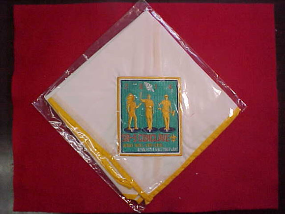 2014 SECTION SR9 CONCLAVE NECKERCHIEF, MINT IN ORIGINAL BAG