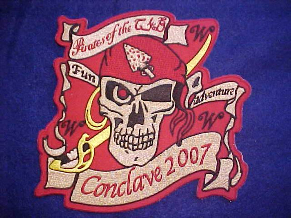 2007 JACKET PATCH, SECTION C4B CONCLAVE