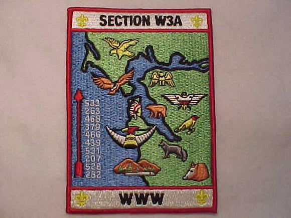W3A SECTION JACKET PATCH, NO DATE