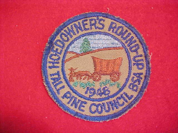 1948 TALL PINE COUNCIL HOEDOWNER'S ROUND-UP,USED
