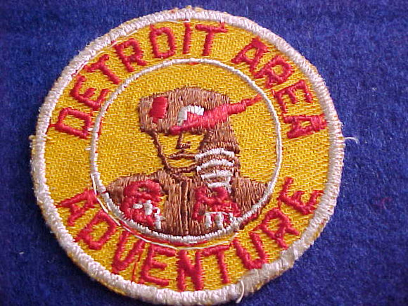 1950'S, DETROIT AREA COUNCIL ADVENTURE, USED