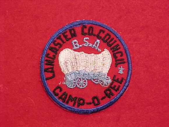 1950'S LANCASTER COUNTY COUNCIL CAMP-O-REE