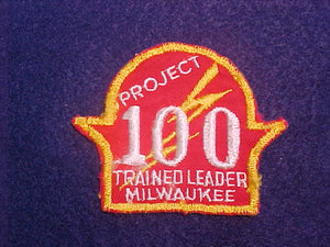 1950'S MILWAUKEE TRAINED LEADER, PROJECT 100, USED
