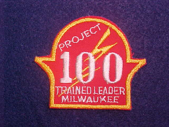 1950'S MILWAUKEE TRAINED LEADER, PROJECT 100, MINT