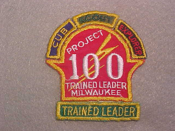 1950'S MILWAUKEE TRAINED LEADER, PROJECT 100+4 SEGMENTS