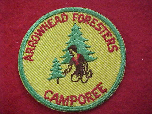 1950'S, ARROWHEAD FORRESTERS CAMPOREE