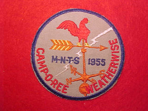 1955 M-N-T-S CAMPOREE WEATHERWISE