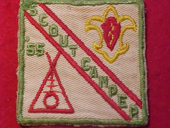 1955 PATCH, SCOUT CAMPER, USED