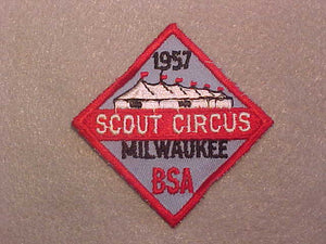 1957 MILWAUKEE SCOUT CIRCUS
