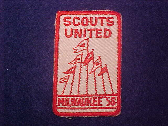1958 MILWAUKEE SCOUTS UNITED