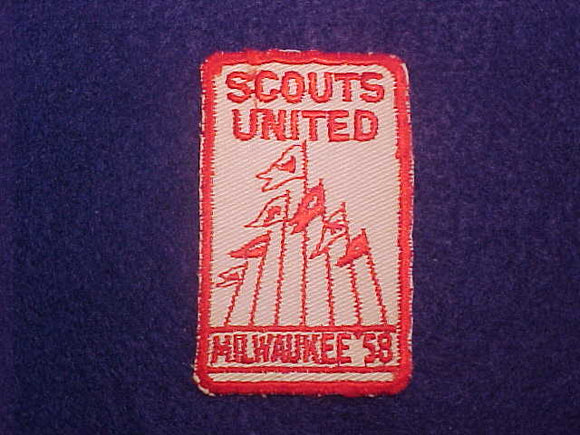 1958 MILWAUKEE SCOUTS UNITED, USED