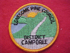 1960'S, LONESOME PINE COUNCIL, DISTRICT CAMPOREE