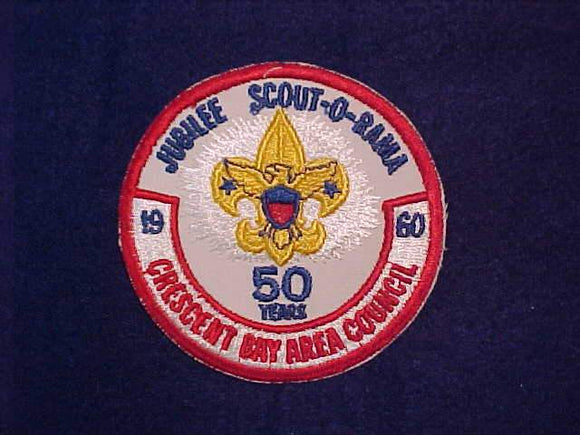 1960 CRESCENT BAY AREA COUNCIL JUBILEE SCOUT-O-RAMA