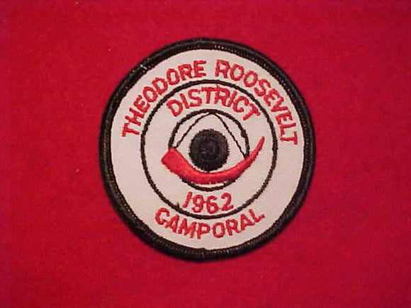 1962 THEODORE ROOSEVELT DISTRICT CAMPORAL