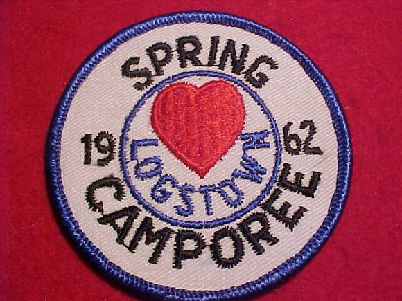 1962 PATCH, LOGSTOWN SPRING CAMPOREE