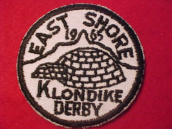 1965 PATCH, EAST SHORE KLONDIKE DERBY