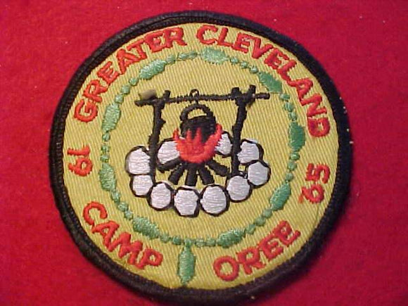 1965 PATCH, GREATER CLEVELAND CAMPOREE