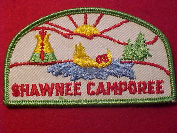 1965 PATCH, SHAWNEE CAMPOREE