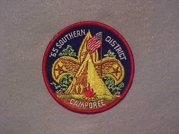 1965 SOUTHERN DISTRICT CAMPOREE