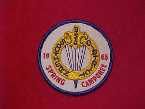 1965 SOUTHERN DISTRICT, SPRING CAMPOREE, USED