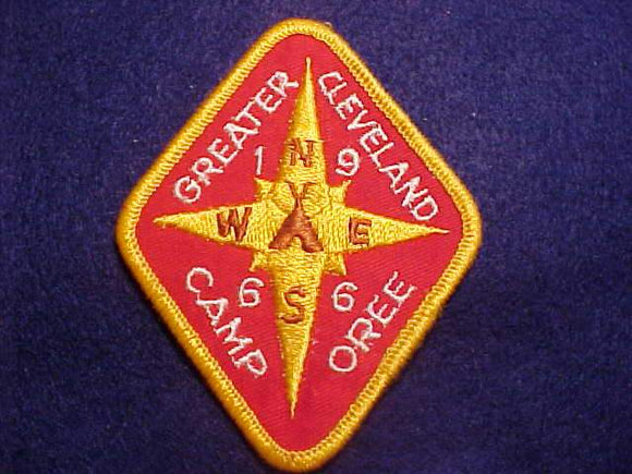 1966 PATCH, GREATER CLEVELAND CAMPOREE