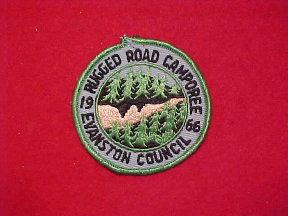 1966 EVANSTON COUNCIL, RUGGED ROAD CAMPOREE, USED