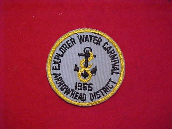 1966 EXPLORER WATER CARNIVAL, ARROWHEAD DISTRICT, USED