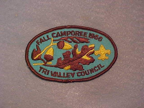 1966 TRI VALLEY COUNCIL FALL CAMPOREE