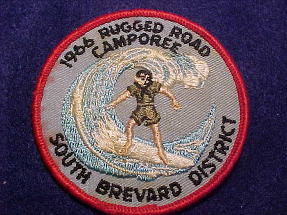 1966 PATCH, SOUTH BREVARD DISTRICT RUGGED ROAD CAMPOREE
