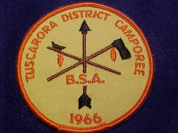 1966 PATCH, TUSCARORA DISTRICT CAMPOREE