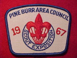 1967 PINE BURR AREA C. SCOUT EXPOSITION