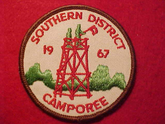 1967 SOUTHERN DISTRICT CAMPOREE