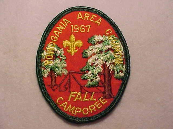 1967 YOHOGANIA AREA C. FALL CAMPOREE, USED
