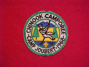 1968 CAMP JOUBERT CHINOOK CAMPOREE, USED
