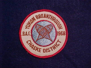 1968 CHASKE DISTRICT YUKON BREAKTHROUGH B.A.C.